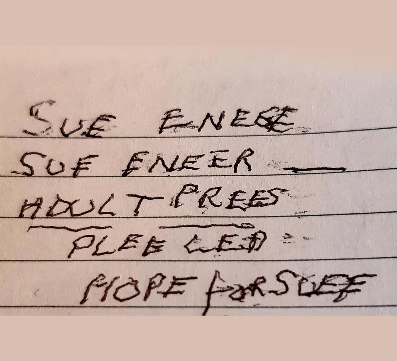 Hope for Suee